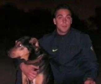 Lop, un pastor alemán que dio su vida por salvar a sus dueños