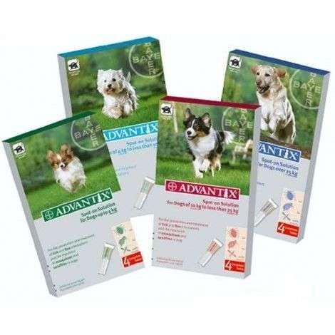 pipetas anti parasitos advantix para perros