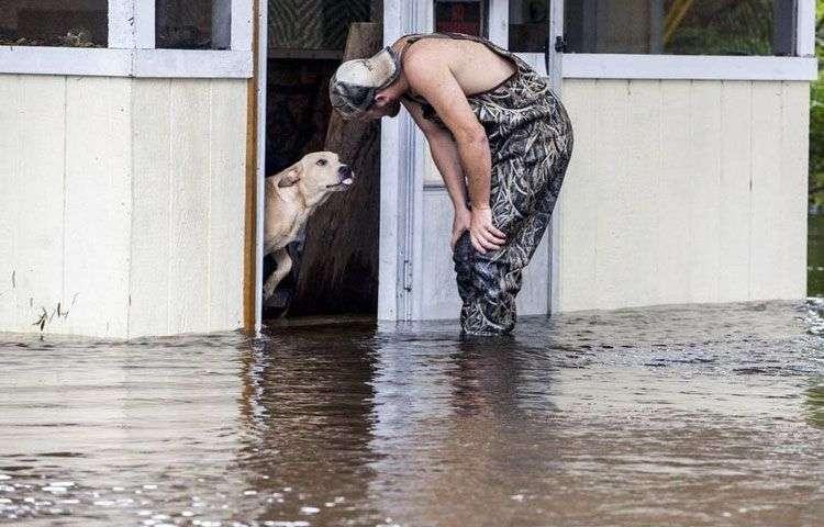 hombre-salva-perro-abandonado-inundaciones